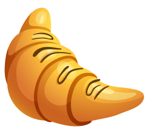 Croissant_with_Chocolate_PNG_Clipart_Picture