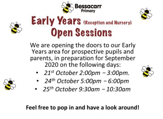 Early Years Open Days